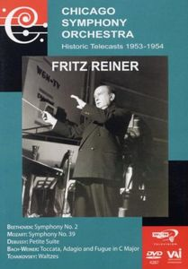Chicago Symphony Orchestra: Historic Telecasts: 1953-1954: Fritz Reiner