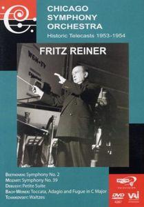 Chicago Symphony Orchestra: Historic Telecasts: 1953-1954: Fritz Reiner