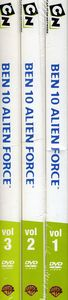 Ben 10: Season 1 Volumes 1-3