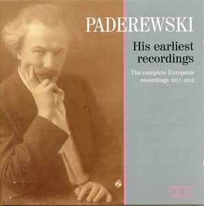 His Earliest Recordings 1911-1912