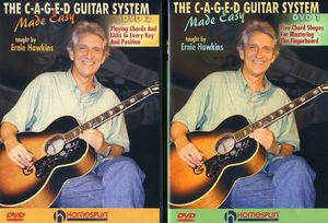 Caged Guitar System Made Easy 1 and 2