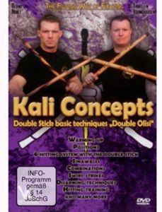 Kali Concepts Double Stick Basic Techniques Double [Import]