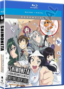 Shimoneta: A Boring World Where The Concept Of Dirty Jokes Doesn't Exist - Complete Series - Essentials