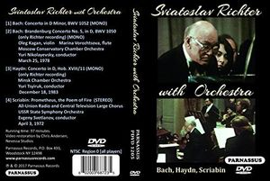Sviatoslav Richter With Orchestra