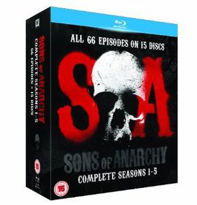 Sons of Anarchy: Complete Seasons 1-5 [Import]