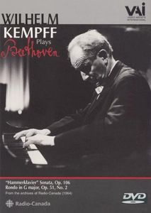 Wilhelm Kempff Plays Beethoven