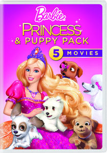 Barbie Princess & Puppy Pack: 5 Movies
