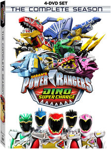 Power Rangers Dino Super Charge: The Complete Season