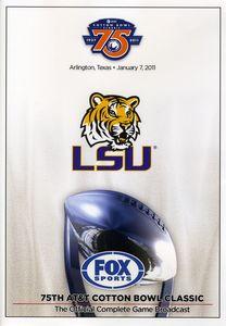 2011 Cotton Bowl-Lsu Vs Texas Am