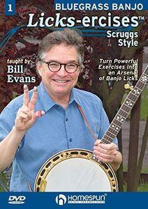Bluegrass Banjo Licks-Ercises 1