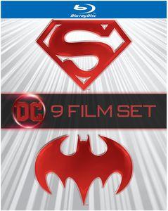 Batman And Superman (9-Film Set)