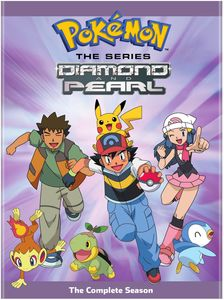 Pokemon The Series: Diamond And Pearl The Complete Season