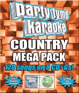 Party Tyme Karaoke: Country Mega Pack [8 Discs]