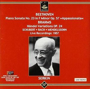Piano Sonata No. 23-Haendel Variations Op 24