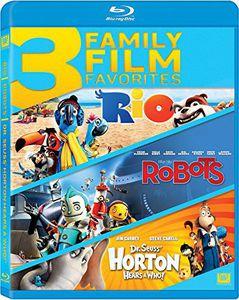 Rio /  Robots /  Horton Hears a Who Triple Feature