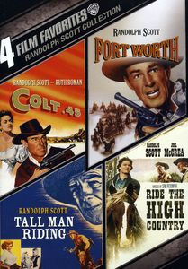 4 Film Favorites: Randolph Scott Collection