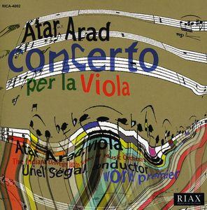 Atar Arad Concerto Per la Viola