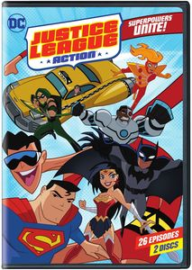 Justice League Action: Superpowers Unite Season 1 - Part 1