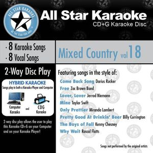 Karaoke: Mixed Country, Vol. 18