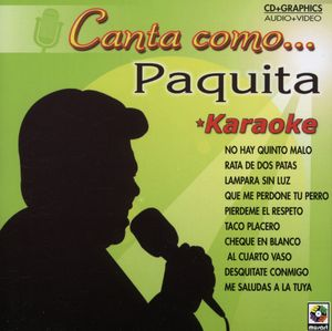 Canta Como Paquita
