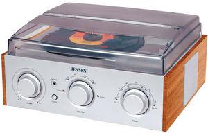 Jensen JTA-220 3-Speed Turntable (AM/ FM Receiver)