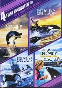 4 Film Favorites: Free Willy 1 - 4