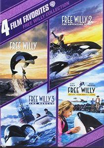 4 Film Favorites: Free Willy 1 - 4