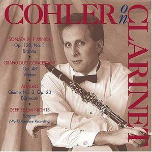 024-101 Cohler on Clarinet
