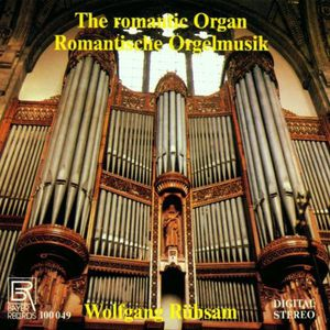 Organ Music of the Romanticism
