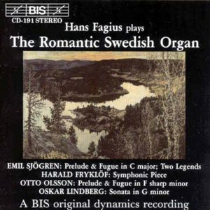 Romantic Swedish Organ