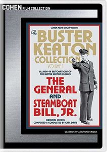 The Buster Keaton Collection: Volume 1 (The General /  Steamboat Bill Jr.)