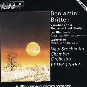 Frank Bridge Theme Variation