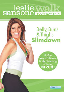 Leslie Sansone: Walk Your Way Thin - Belly, Buns, And Thighs Slimdown