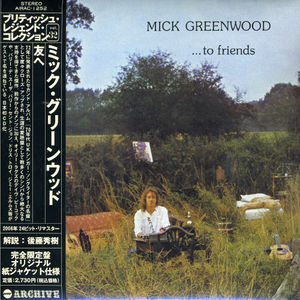 To Friends [Import]
