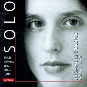 Solo: Violin Works