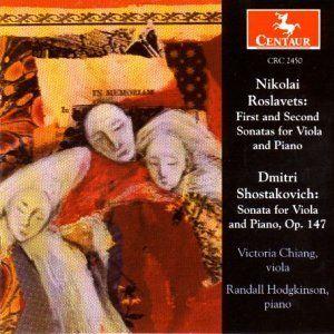 Roslavets: First Sonata for Vi