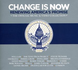 Change Is Now: Renewing America's Promise [CD/ DVD Combo] [O-Card]