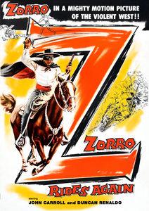Zorro Rides Again