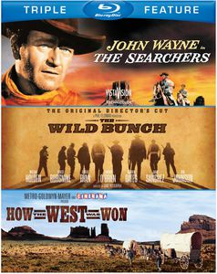 The Searchers /  The Wild Bunch /  How the West Was Won