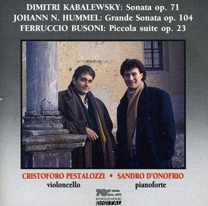 Sonata Op 71 /  Grande Sonata Op 104