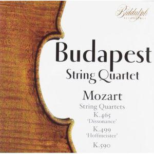 Budapest String Quartet Plays Mozart