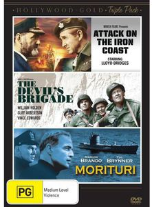 Attack on the Iron Coast/ Devil's Brigade/ Morituri [Import]