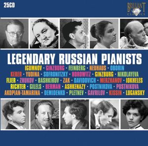 Legendary Russian Pianists /  Various