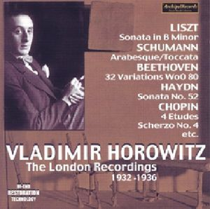 Vladimir Horowitz-Die London