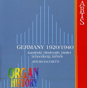 Organ History Germany 1920-1940