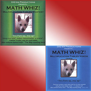 Math Whiz! Multiplication Tables Mastery /  Various