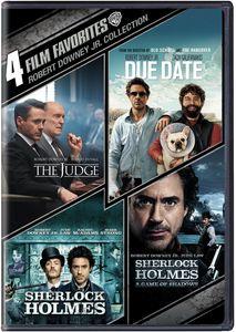 4 Film Favorites: Robert Downey, Jr. Collection