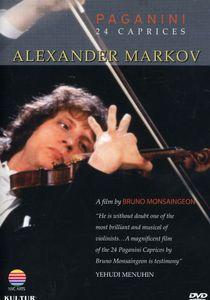 Alexander Markov: Paganini's 24 Caprices