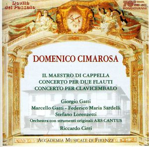 Concerto in G for 2 Flutes & Orchestra