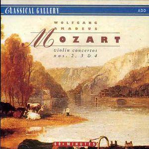 Mozart: VLN Ctos Nos 2 - 4
